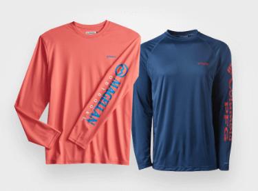 shop fishing shirts starting at $14.99