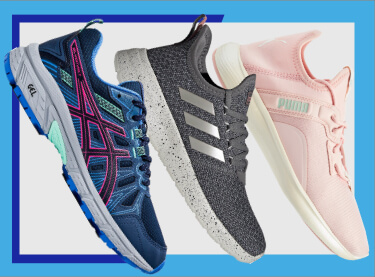 up to 30% off athletic shoes