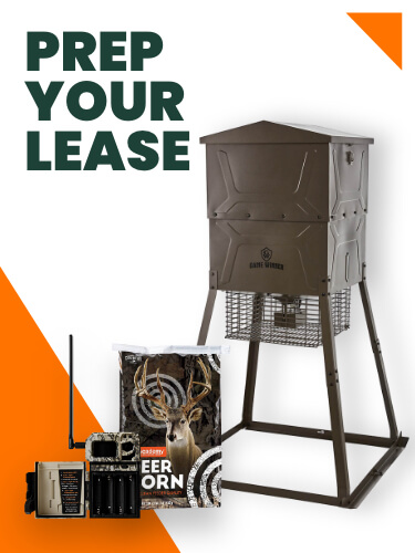get ready for hunting prep your lease