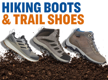 shop hiking and trail boots