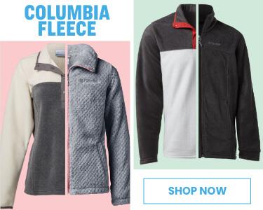 shop columbia fleece