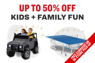 up to 50% off kids + famaily deals