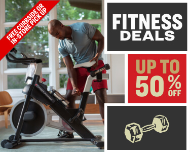 up to 50% off fitness deals