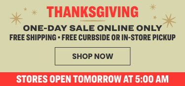 Happy thanksgiving - one day sale only