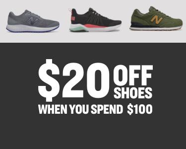 shop $20 off shoes