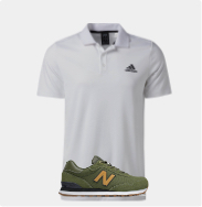 shop hot deals on men's apparel and shoes