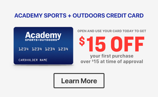 academy credit card apply now