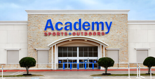 academy sports and outdoors store image