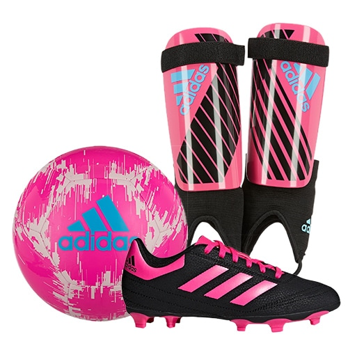 adidas Pink Soccer Package