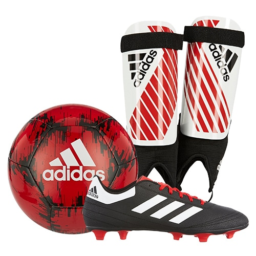 adidas Red Soccer Package