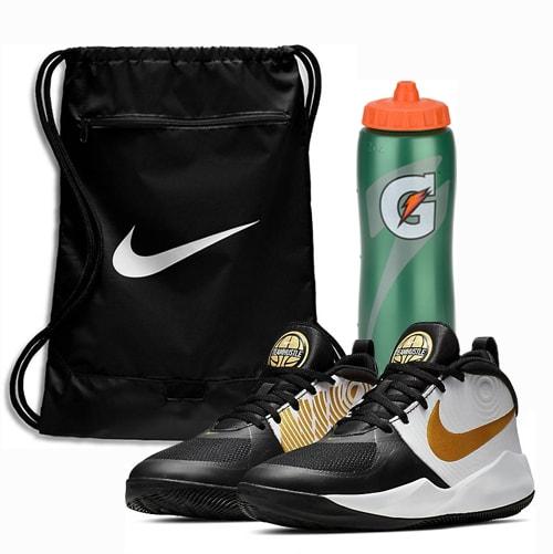 Grade School Basketball Shoe & Accessories Package