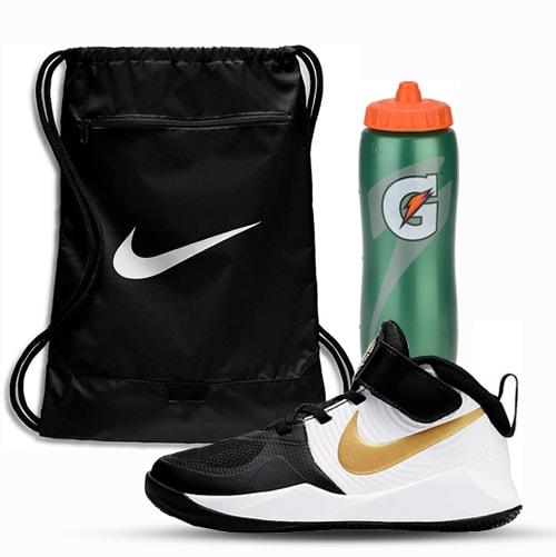 Pre-School Basketball Shoe & Accessories Package