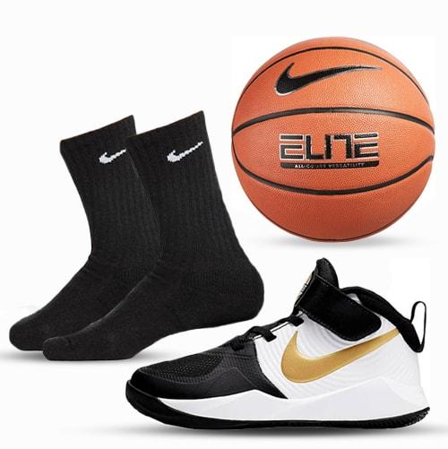 Pre-School Basketball Shoe & Ball Package