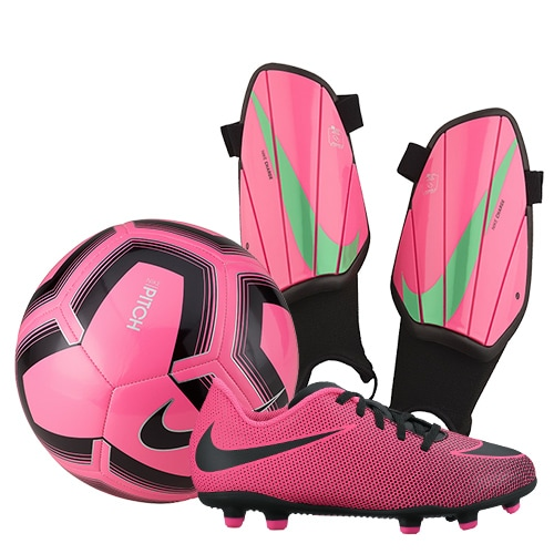Pink Soccer Package