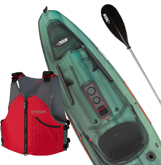Pelican Sentinel Kayak Package