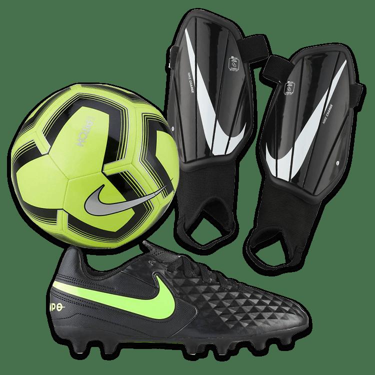 Recuerdo Posicionar Virgen  Nike Yellow Youth Soccer Package | Academy