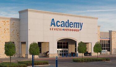 academy sports and outdoors storefront